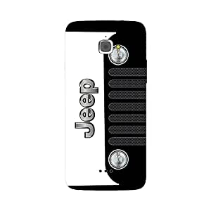 Skintice Designer Back Cover with direct 3D sublimation printing for Infocus M530