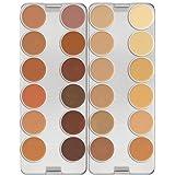 Dermacolor Camouflage 24 Color Palette By Kryolan 71008 - K