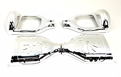 Smart Balance Hoverboard Replacement CHROME Shell Body