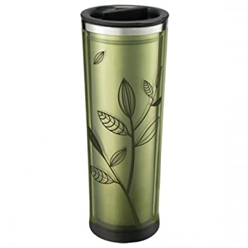Insulated Leaf Tumbler with Infuser