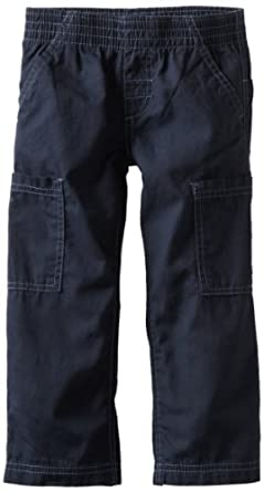Sprockets Little Boys' Action Pull On Pant, Navy, 4