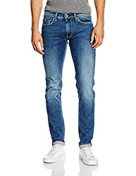 Gas Men's Anders K Slim Fit Jeans (8056775104544_67625WK79_28W x 34L_Blue)