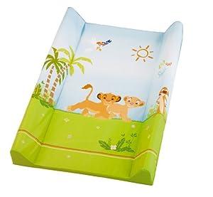 Rotho Babydesign 20099 0018 93 - Colchón cambiador con diseño Lion King, 50 x 70 cm - Bebe Hogar