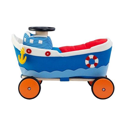 Wonderworld Ride-On Boat front-897906