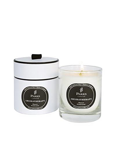 Parks London Duftkerze Black Magic Lavender Honeysuckle Lilac Hyacinth Pear Orange Opoponax (Myrrh) ...