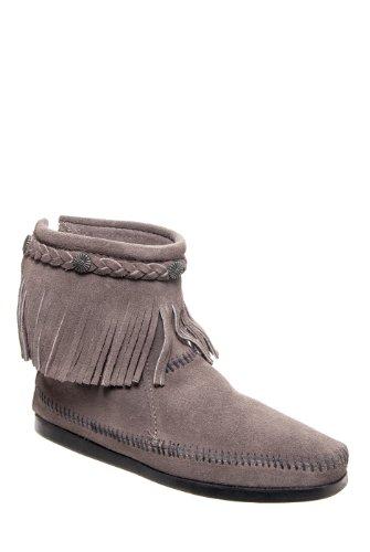 Minnetonka Fringed Ankle Boot
