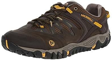 Merrell Men's All Out Blaze Hiking Shoe,Black Slate/Yellow,7 M US