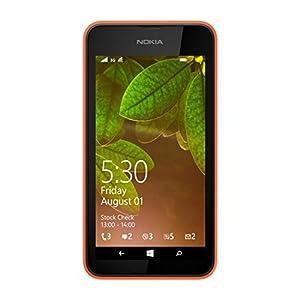 Nokia Lumia 530, UK SIM-Free Smartphone - Orange