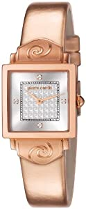 Pierre Cardin Damen-Armbanduhr Chérie Analog Quarz Leder PC106012F06