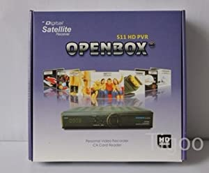 Openbox S11 HD PVR digital satellite TV receiver Open Box S11Support Wifi Bridge MGcamd Cccamd Servers Free shipping