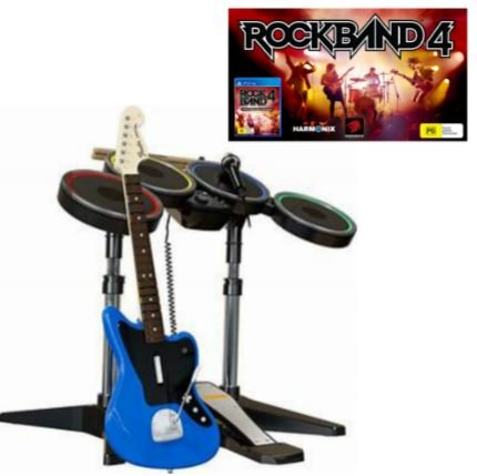 Rock Band 4 Band in a Box PS4 Compatible