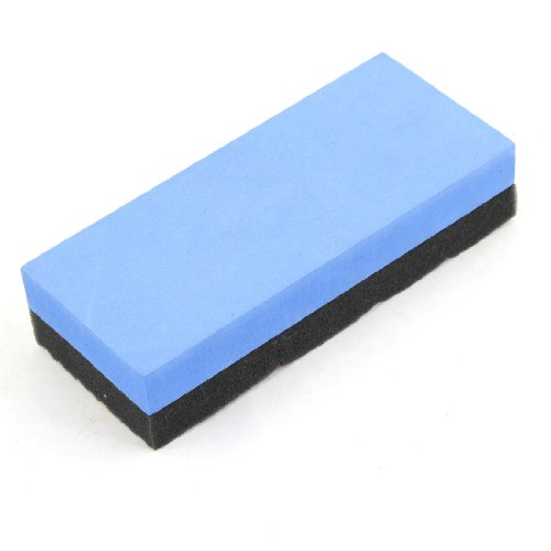 Car Automobile Foam Sponge Polishing Pad Polisher Cleaner Blue Black front-25277