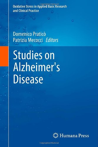 Studies On Alzheimer'S Disease (Oxidative Stress In Applied Basic Research And Clinical Practice)