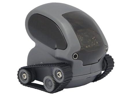 Deskpets 6320 Jeu Educatif et Scientifique Robot Télécommande Tankbot Noir