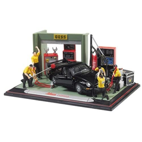 Amazon.com: 1/43 Scale Schuco Diorama Garage Porsche 911