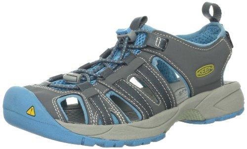 Keen Women'S Turia Water Shoe,Gargoyle/Norse Blue,6 M Us front-967376