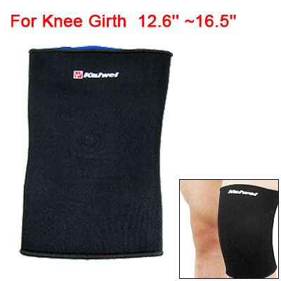 Sports Sleeve Elastic Neoprene Knee Support Pullover Protector Black