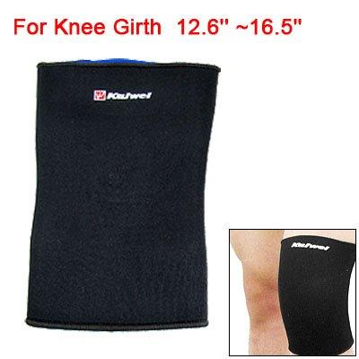 Sports Sleeve Elastic Neoprene Knee Support Pullover Protector Black