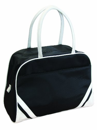 Bags for LessTM Deluxe Travel Sports Duffel Bag, Black