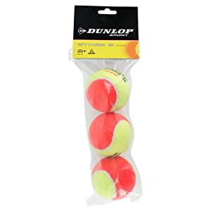 Buy Dunlop Sports Stage 2 Orange Tennis Balls, 3 Ball Can by Dunlop
