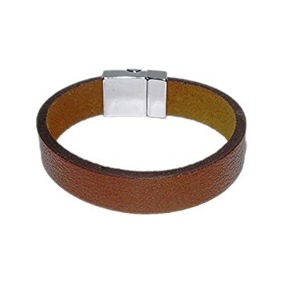 AUTHENTIC HANDMADE Leather Bracelet, Men Women Wristbands Braided Bangle Craft Multi [SKU003087]