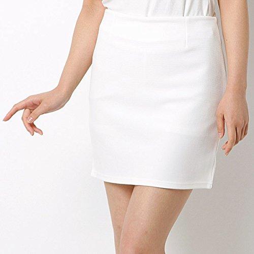 セシルマクビー(CECIL McBEE) フロントダーツタイトスカート【01ホワイト/M】