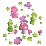 Wall Glamour Childrens Wall Stickers Fairy Set