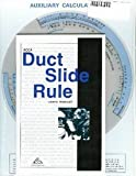 ACCA Duct Calculation Slide Rule