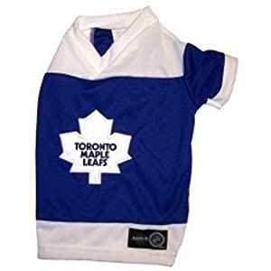 Toronto Maple Leafs - Dog Hockey Jersey - Large