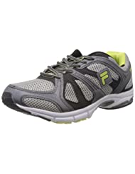 Fila Men Duralite Grey Mesh Running Shoes