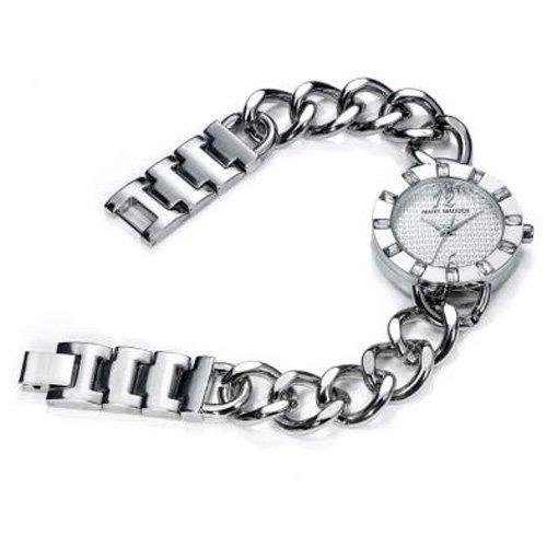 Mark Maddox MF3001-05 - Orologio da polso da donna, cinturino in acciaio inox colore argento