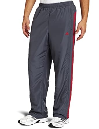 adidas Men's New Revo Pant , Lead/ Red, XX-Large
