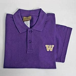 Washington Huskies Heisman S s Polo by Reebok