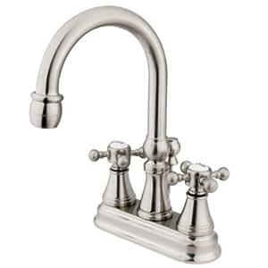 Kingston Brass KS2618BX 4 Inch Centerset Lavatory Faucet