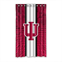Too Amazing Customized Indiana Hoosiers Polyester Fabric Window Curtain 50\