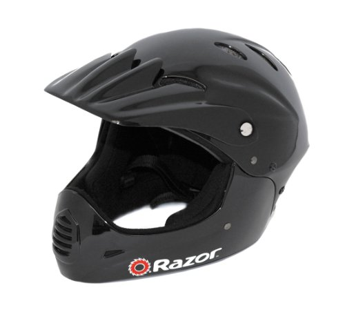 Youth Helmet With Full Face Coverage - For Scooters