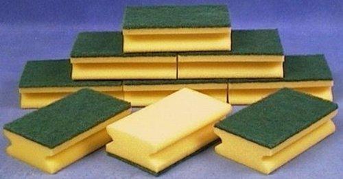 10x-schwamm-kuchenschwamm-reinigungsschwamm-topfschwamm-scheuerschwamm-gelb-grun