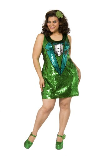 Delicious Women's Luck O' The Irish Adult Costume