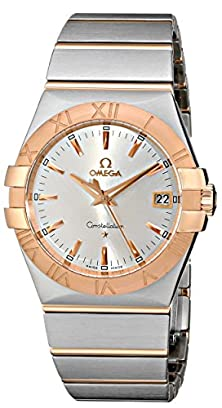 buy Omega Men'S 123.20.35.60.02.001 Constellation Silver Dial Watch