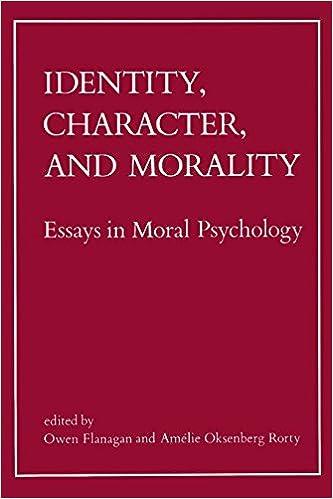 essays on moral
