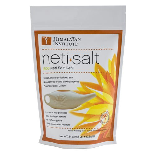 Himalayan Institute Neti Salt Bulk Bag 1.5 Lbs