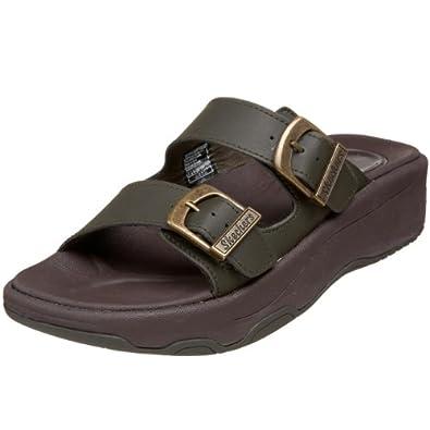 Skechers Cali Women's Killa' Style Sandal,Olive,10 M US