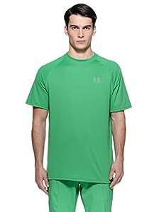 Under Armour Tech HeatGear Manche Courtes Course à Pied T-Shirt - S