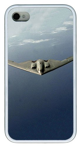 Imartcase Iphone 4S Case, B2 Spirit Us Air Force Case For Apple Iphone 4S/5 Tpu - White