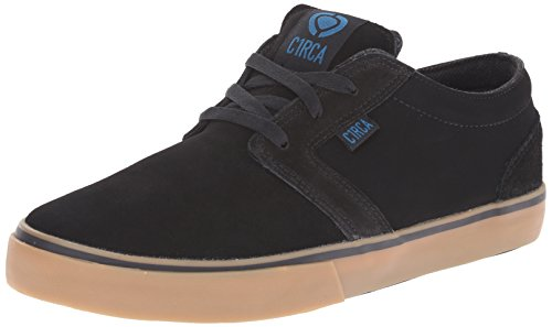 C1RCA Men's Hesh Skateboard Shoe, Black/Seaport, 10 M US
