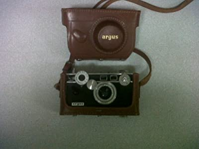Vintage Argus C3 35mm Rangefinder Brick Camera