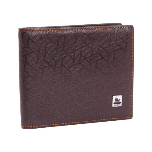 Khoobsurati Zovon Brown Textured Brawny Wallet