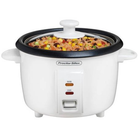 Proctor Silex 8-Cup Rice Cooker, Automatic keep warm function (Proctor Silex Slow Cooker 4 Quart compare prices)