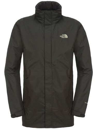 THE NORTH FACE Herren Regenmantel Cirrus, Black, XXL, T0A8AEJK3