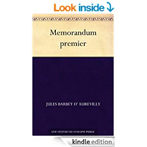 Memorandum premier (French Edition)